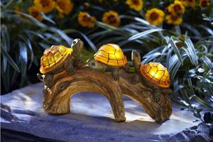 Moonrays Turtles Solar-Powered Outdoor LED Light