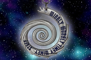 Doctor Who Wibbly Wobbly Timey Wimey Necklace