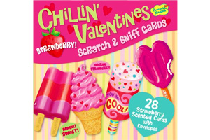 Strawberry Scratch & Sniff Valentines